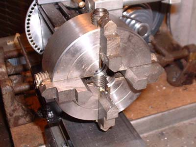 open 4 jaw chuck