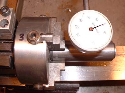 last 4 jaw chuck truing picture...