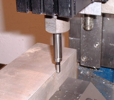 edge finder in use