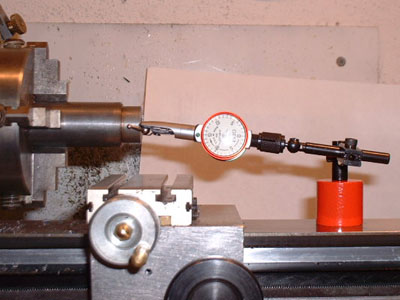 Indicating in a Workpiece in the 4 Jaw Chuck