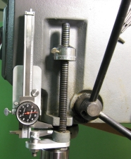 Mounted Depth Gauge