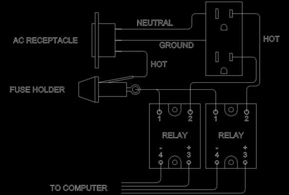 8 pin relay wire diagram relay wiring diagram 8 pin wiring diagrams wiring diagram power tom benedict builds a relay box